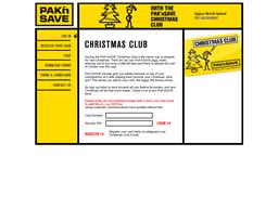 Pak 'n Save Christmas Club gift card balance check