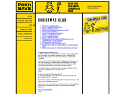 Pak 'n Save Christmas Club gift card purchase
