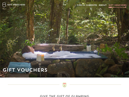 Canopy Camping gift card purchase