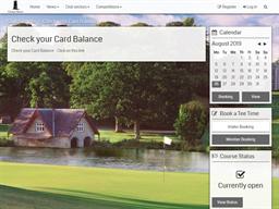 Carton House Golf Club gift card balance check