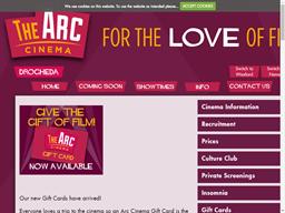 Arc Cinema gift card purchase