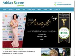 Adrian Dunne Pharmacies shopping