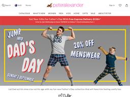 Peter Alexander shopping