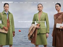 Burberry shopping