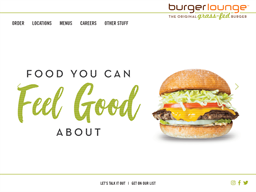 Burger Lounge shopping