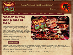 Buster's Barbecue gift card purchase