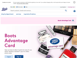 Boots Advantage Card gift card purchase