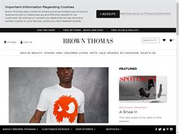 Brown Thomas shopping