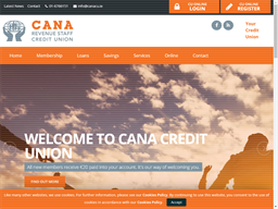 CANA Credit Union shopping