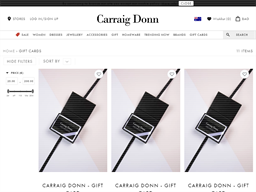 Carraig Donn gift card purchase