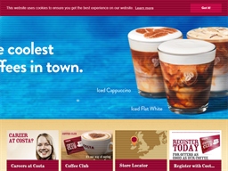 Costa Coffee shopping