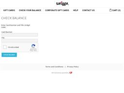 Smiggle gift card balance check
