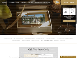 Cork Hotels gift card purchase