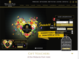Midlands Park Hotel gift card purchase