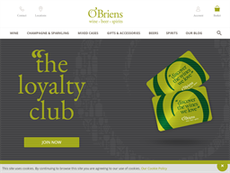 O'Briens Wine gift card purchase