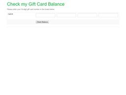 Camille's Sidewalk Cafe gift card balance check