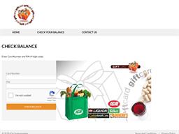 IGA gift card balance check