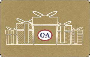 C&A gift card design and art work