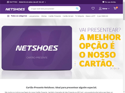 Netshoes gift card purchase