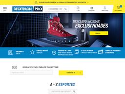 Decathlon Pro shopping