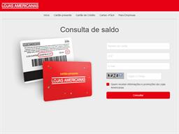 Lojas Americanas gift card purchase