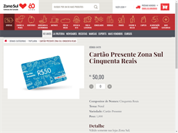 Zona Sul gift card purchase