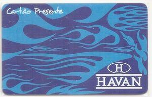 Havan gift card design and art work