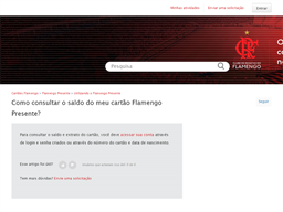 Flamengo gift card purchase