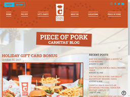 Carnitas' Snack Shack gift card purchase
