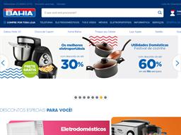 Casas Bahia shopping