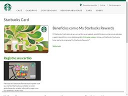 Starbucks Coffee Company gift card balance check