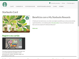 Starbucks Coffee Company gift card purchase