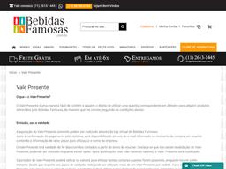 Bebidas Famosas gift card purchase