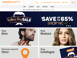 Shaver Shop shopping