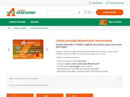 Cartão Atacadão MasterCard gift card purchase