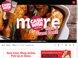 Cash Wise Grocery shopping