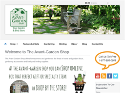 The Avant-Garden Shop shopping