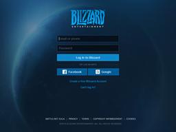 Blizzard Entertainment gift card balance check