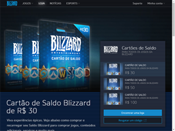 Blizzard Entertainment gift card purchase