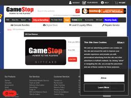 Game Stop gift card balance check