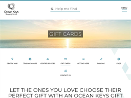Ocean Keys gift card purchase