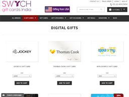 Gift Cards India gift card purchase
