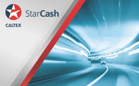 Caltex StarCash gift card design and art work