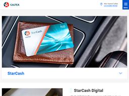 Caltex StarCash gift card purchase