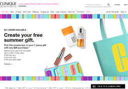 Clinique gift card purchase