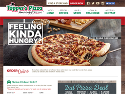 Topper's Pizza shopping