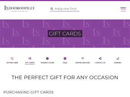 Indooroopilly gift card purchase