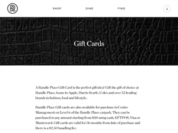 Rundle Place gift card purchase