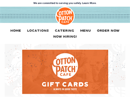 Cotton Patch Cafe gift card purchase