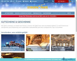 Europa Park gift card purchase